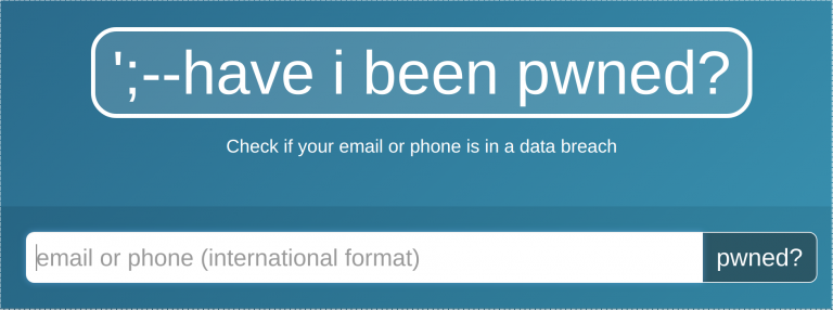 Have I Been Pwned Search